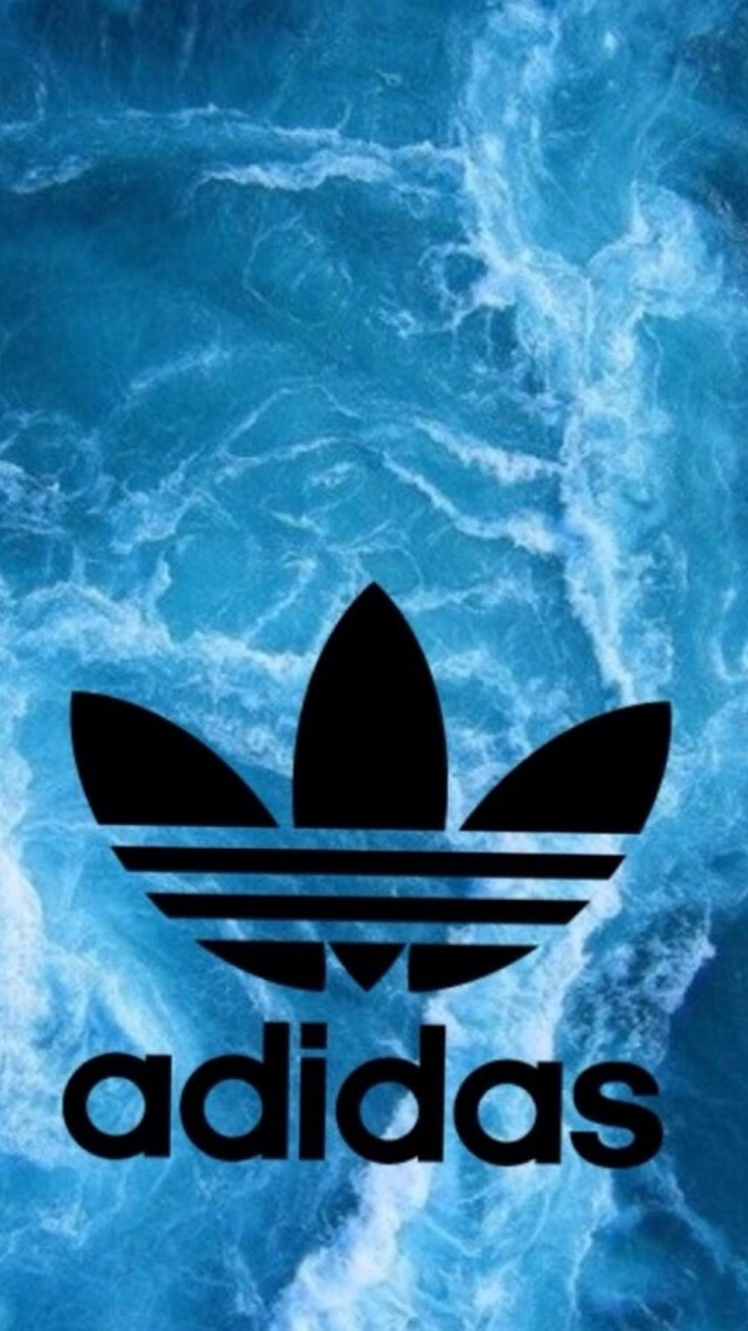 Android Wallpaper Adidas Logo