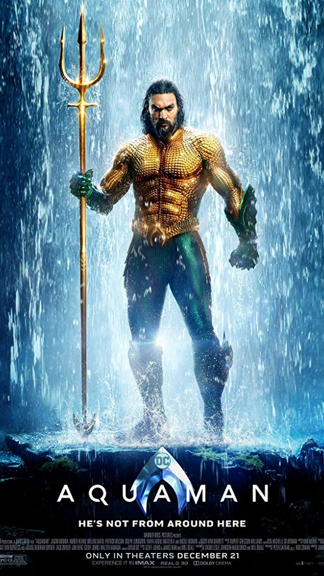 Android Wallpaper Aquaman