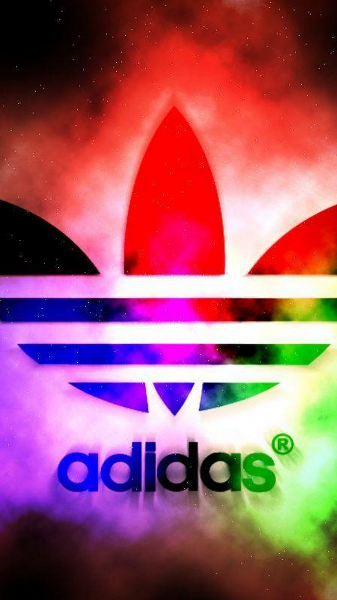 Android Wallpaper HD Adidas Logo