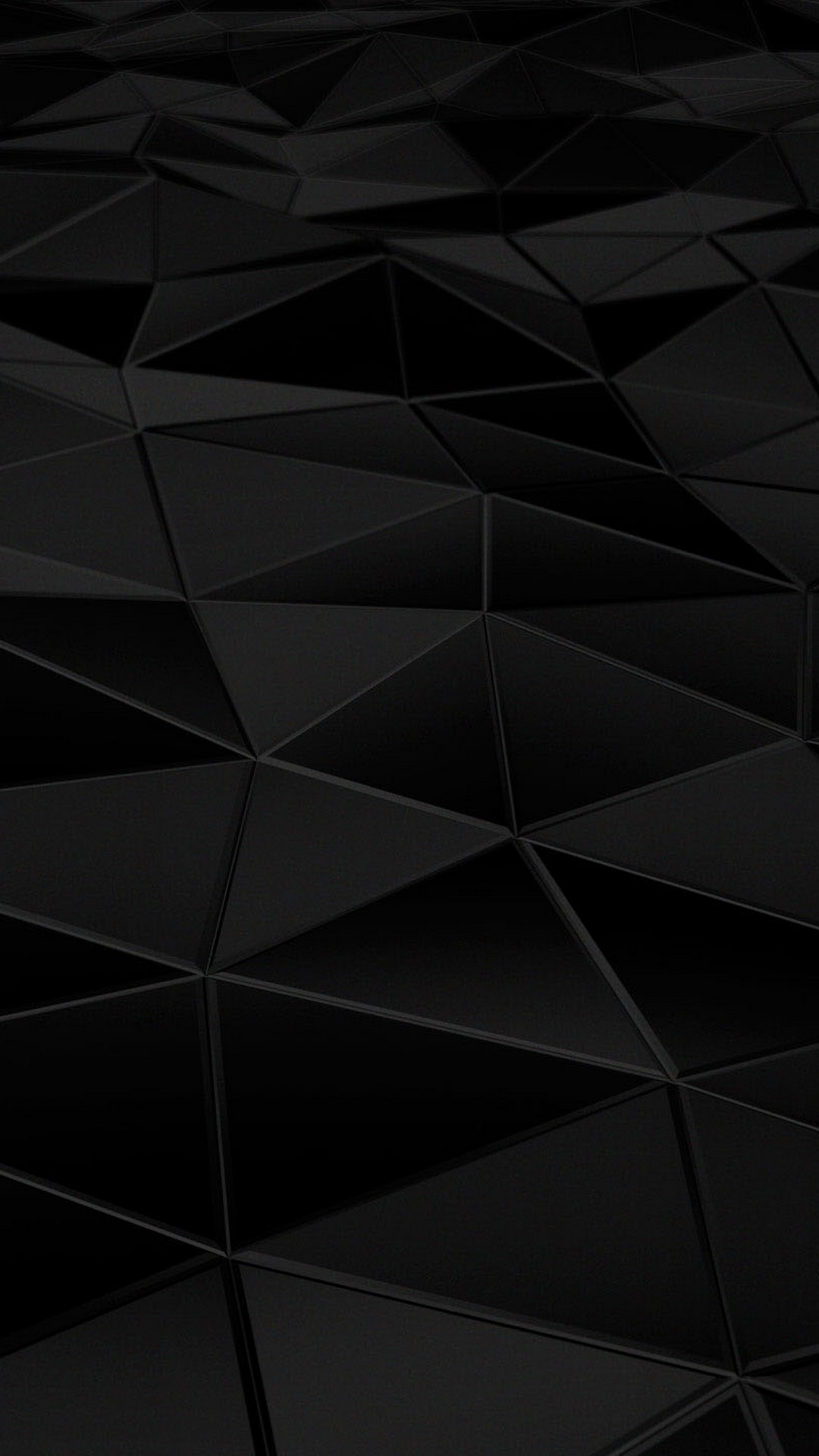 Android Wallpaper HD Black