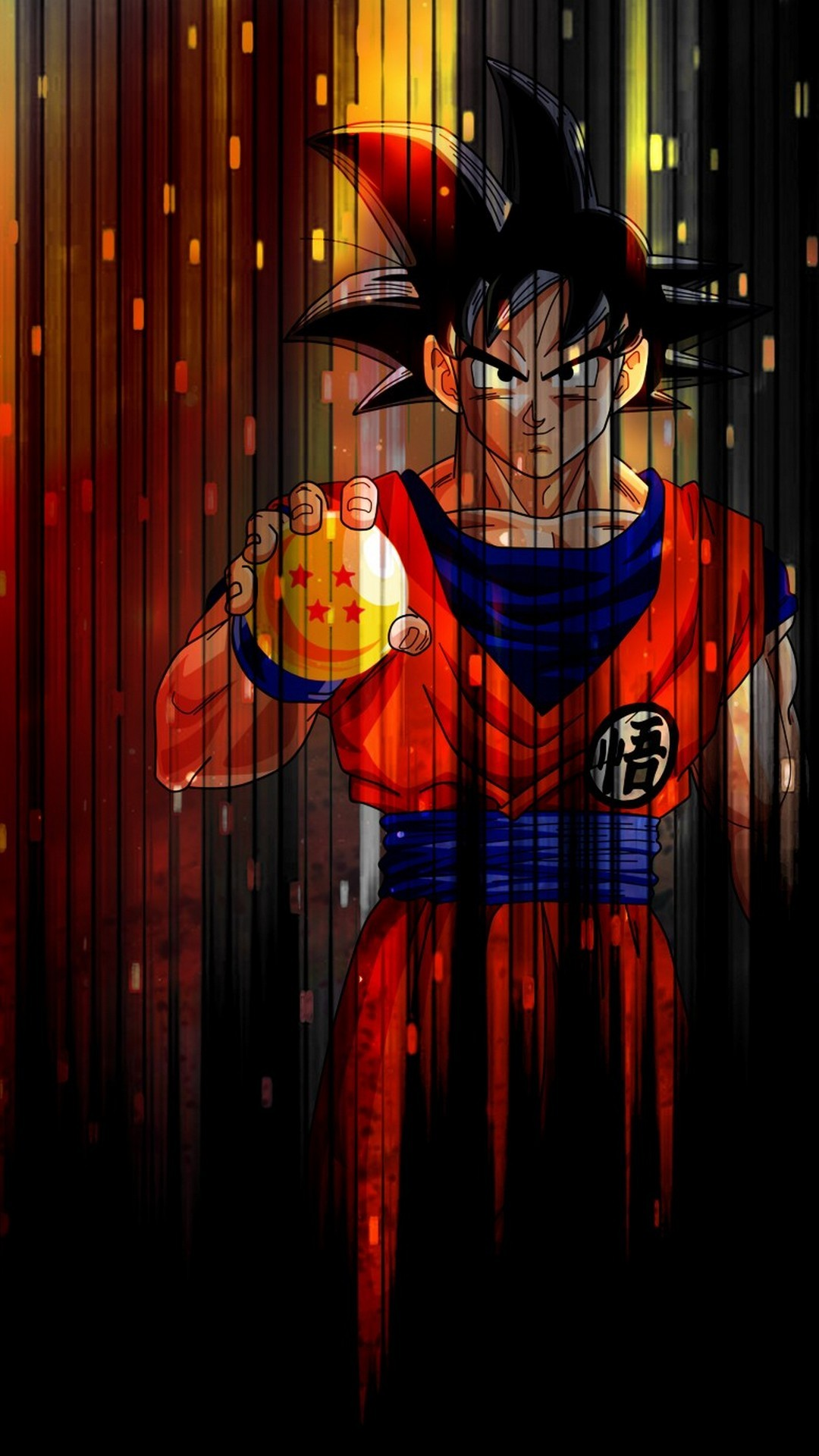 HD Goku Red Character