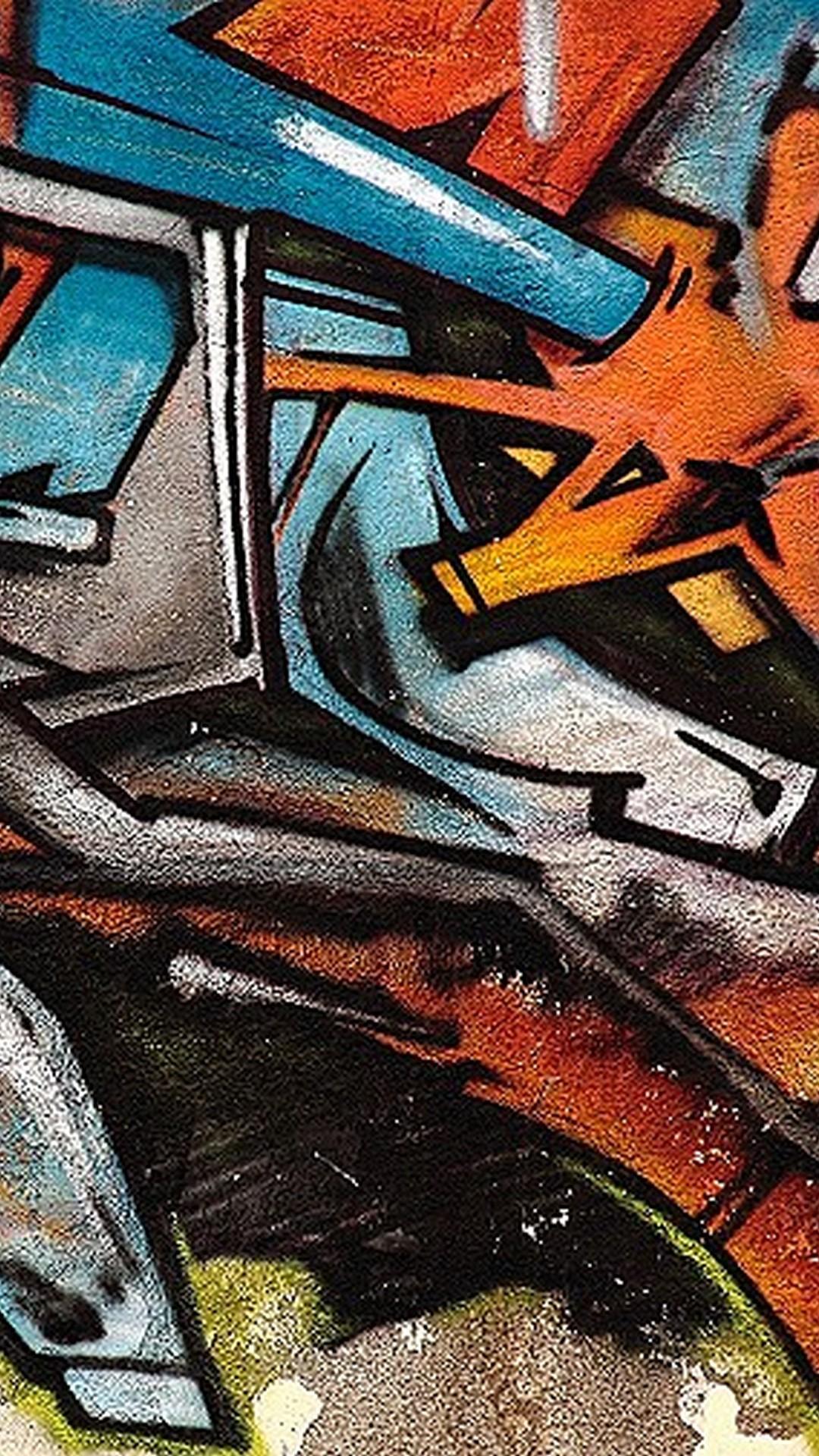 HD Graffiti Font Wall Art