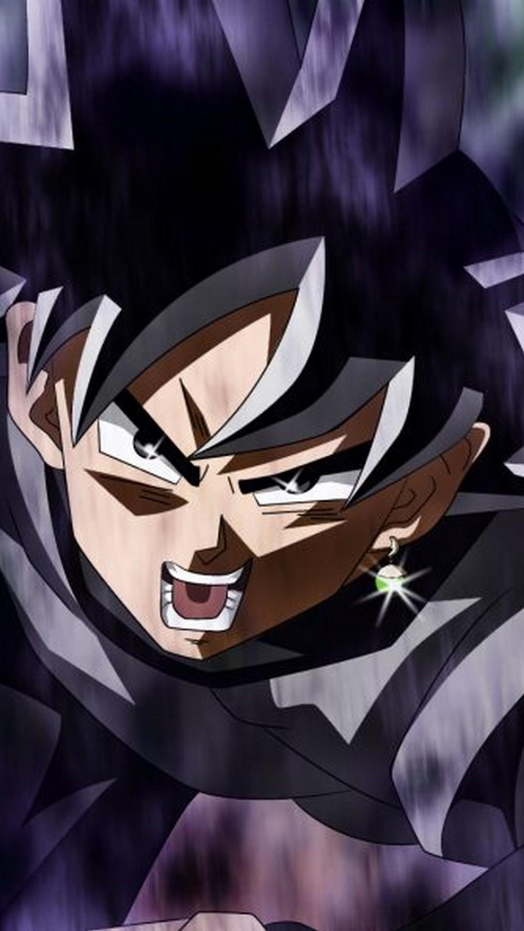 Black Goku Angry