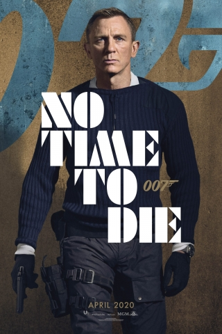 Daniel Craig - No Time To Die - Poster