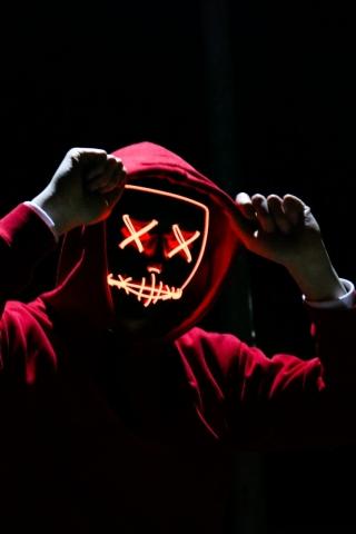 Fire Mask Costume