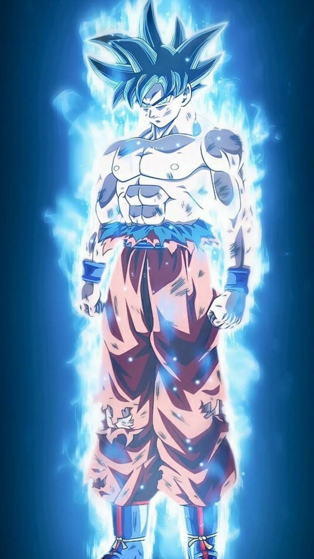 Silver Goku Wallpaper
