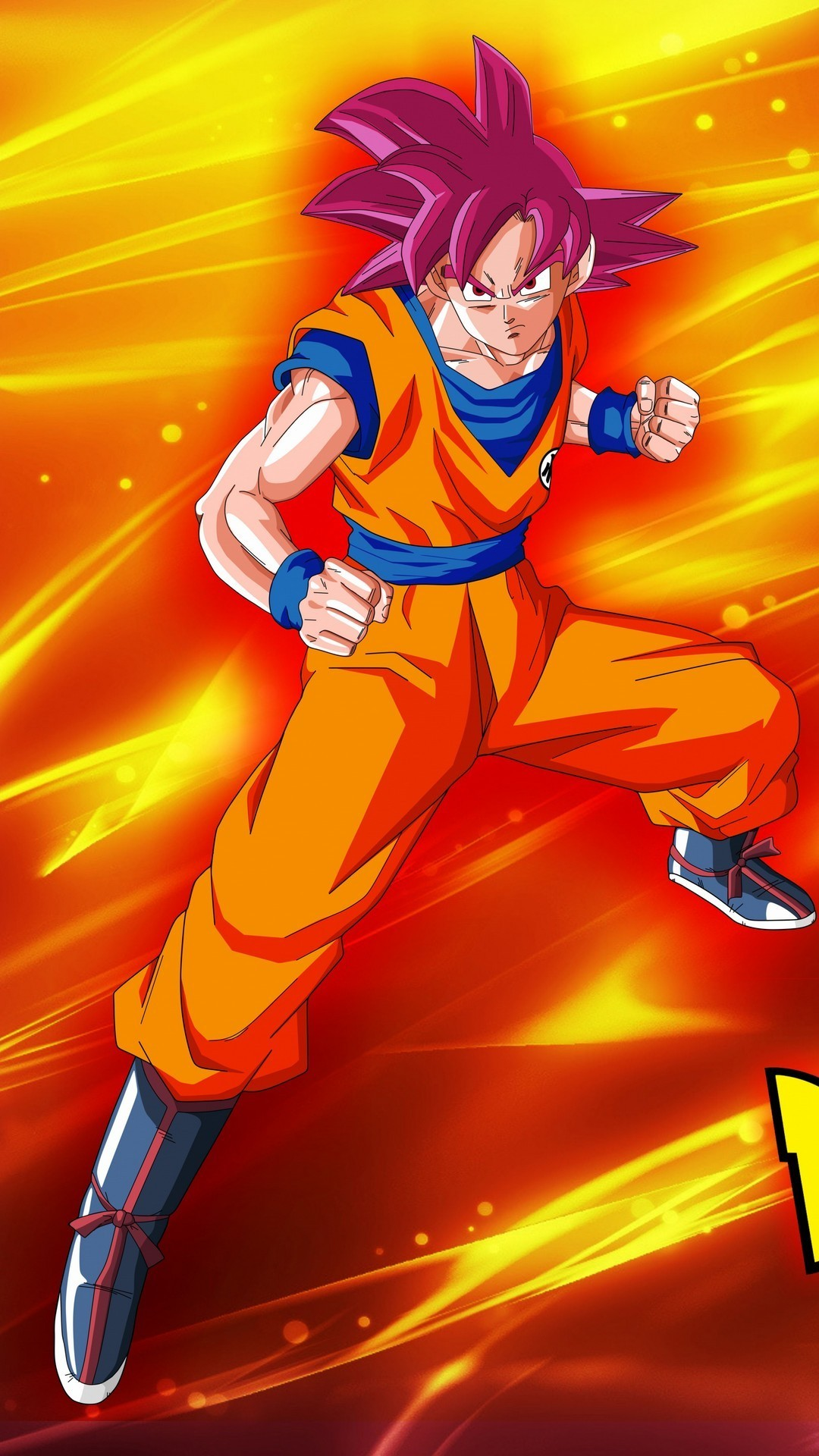 Goku Super Saiyan God Wallpaper Android
