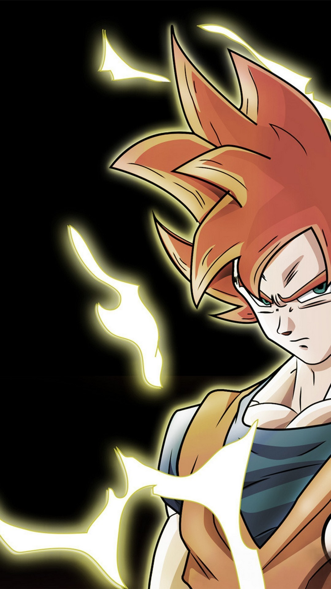 Goku Super Saiyan God Wallpaper For Android