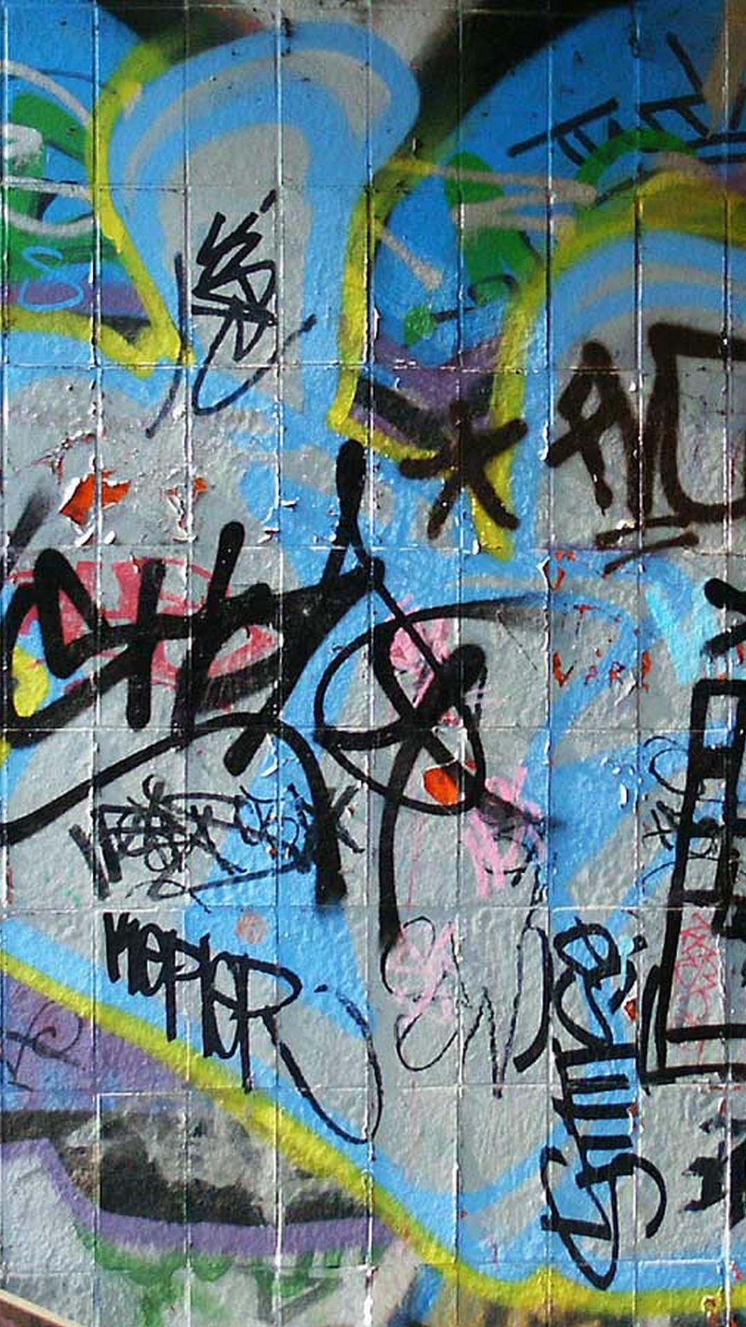Graffiti Street Wall Art