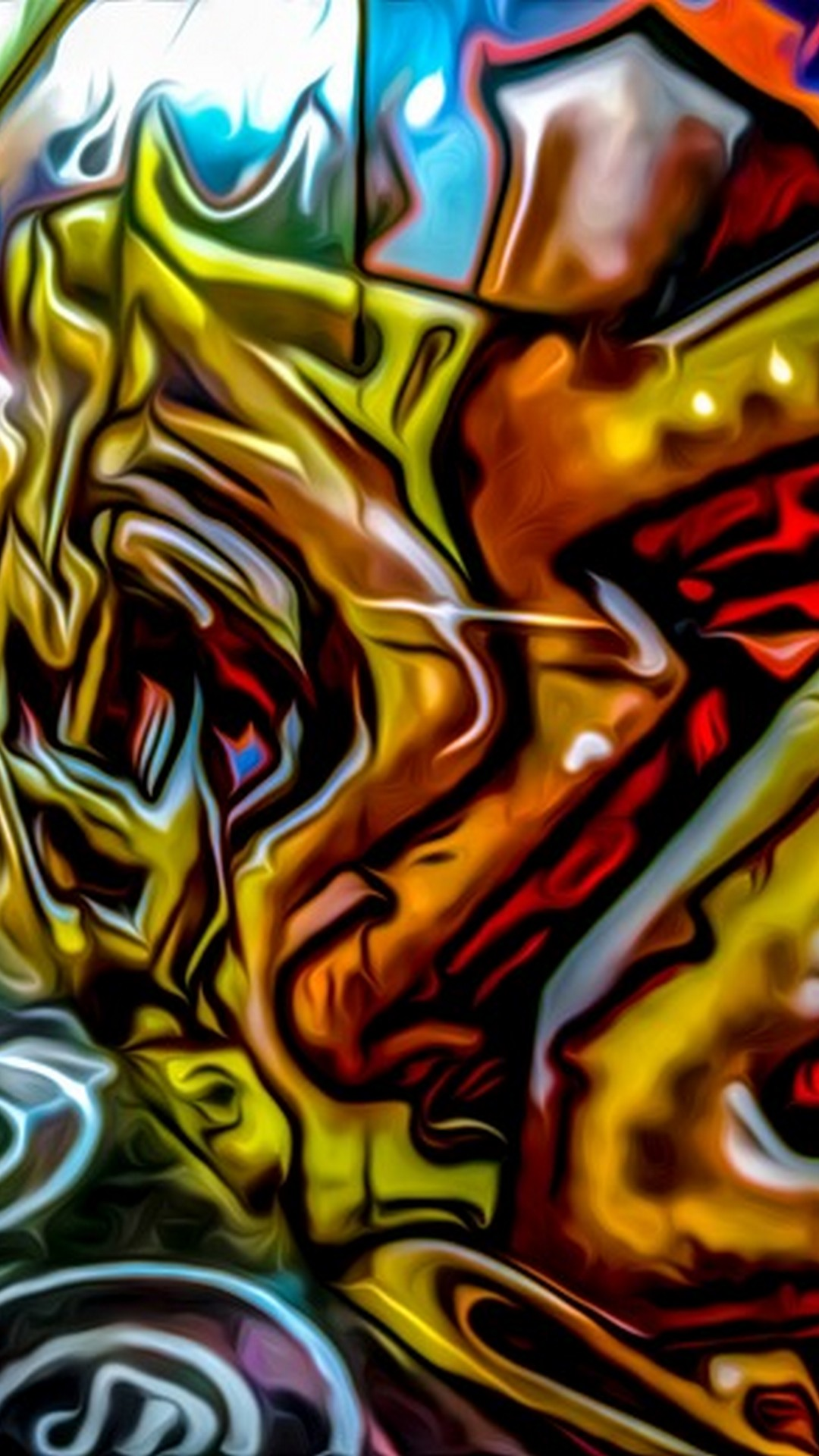 Graffiti Font Wallpaper Android