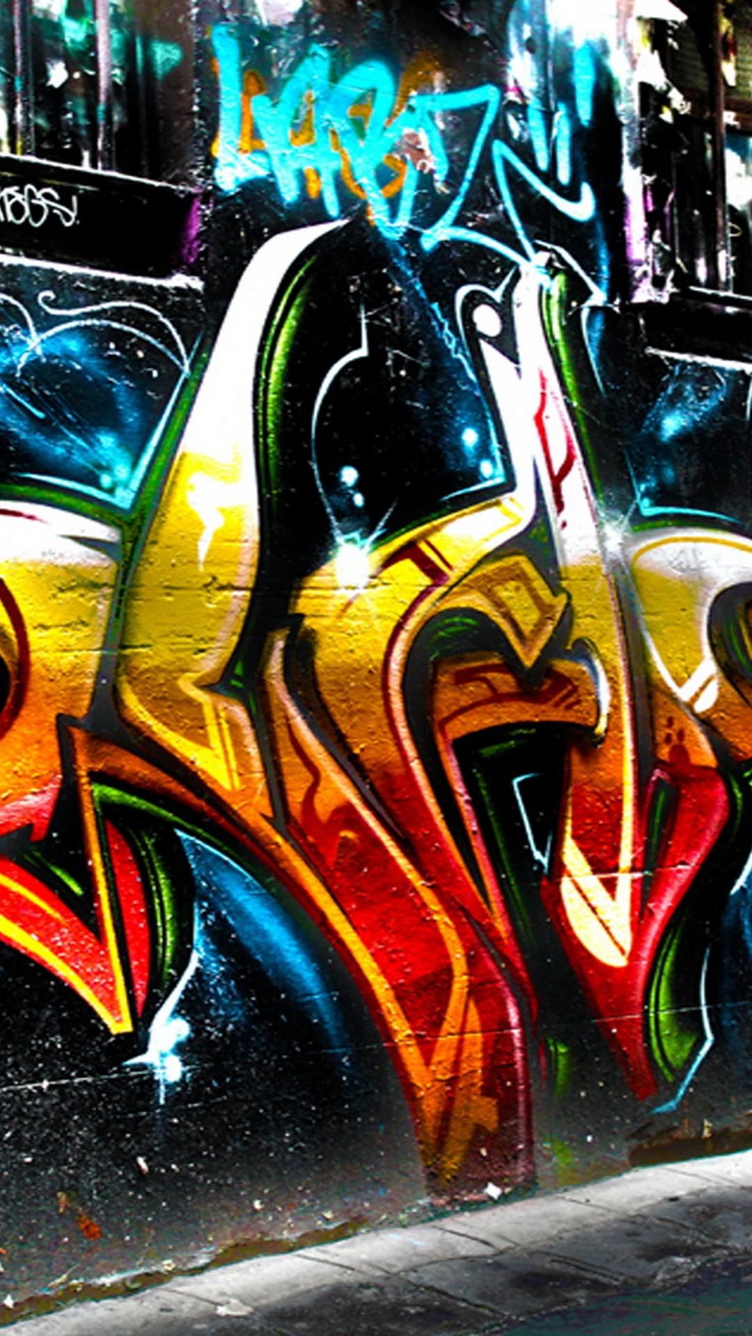 Graffiti Font Wall Art