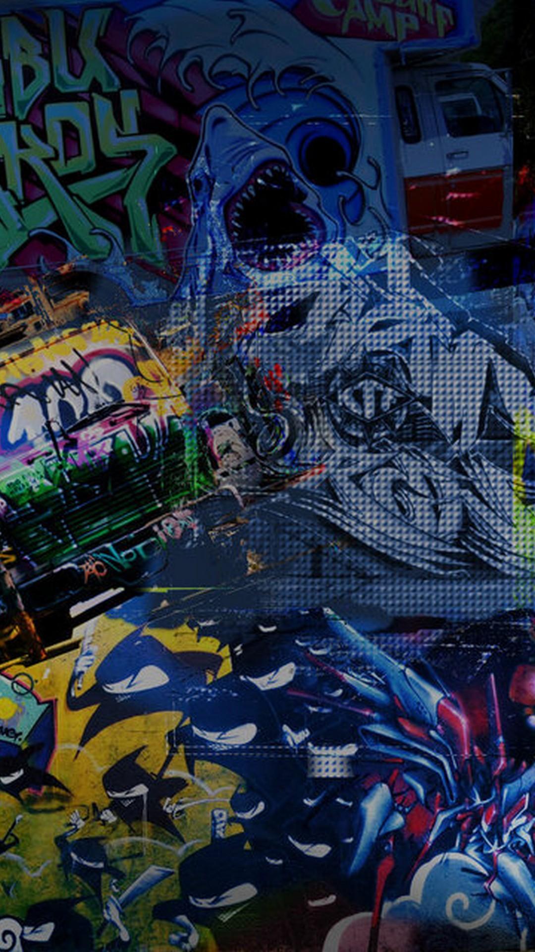 Graffiti Tag Wall Art Work