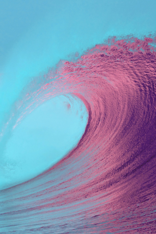 IOS 13 Beach Wave Background