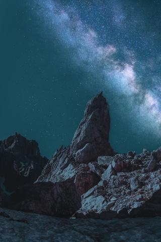 iPhone Xr Night Mountain