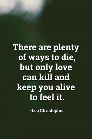Love Can Kill