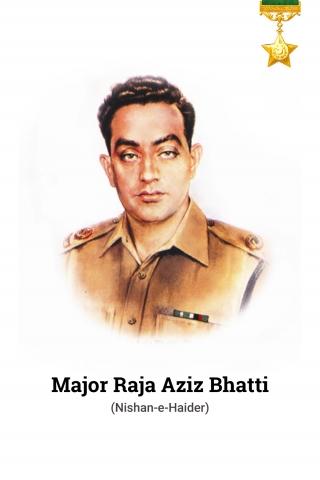 Major Raja Aziz Bhatti - 1965 War