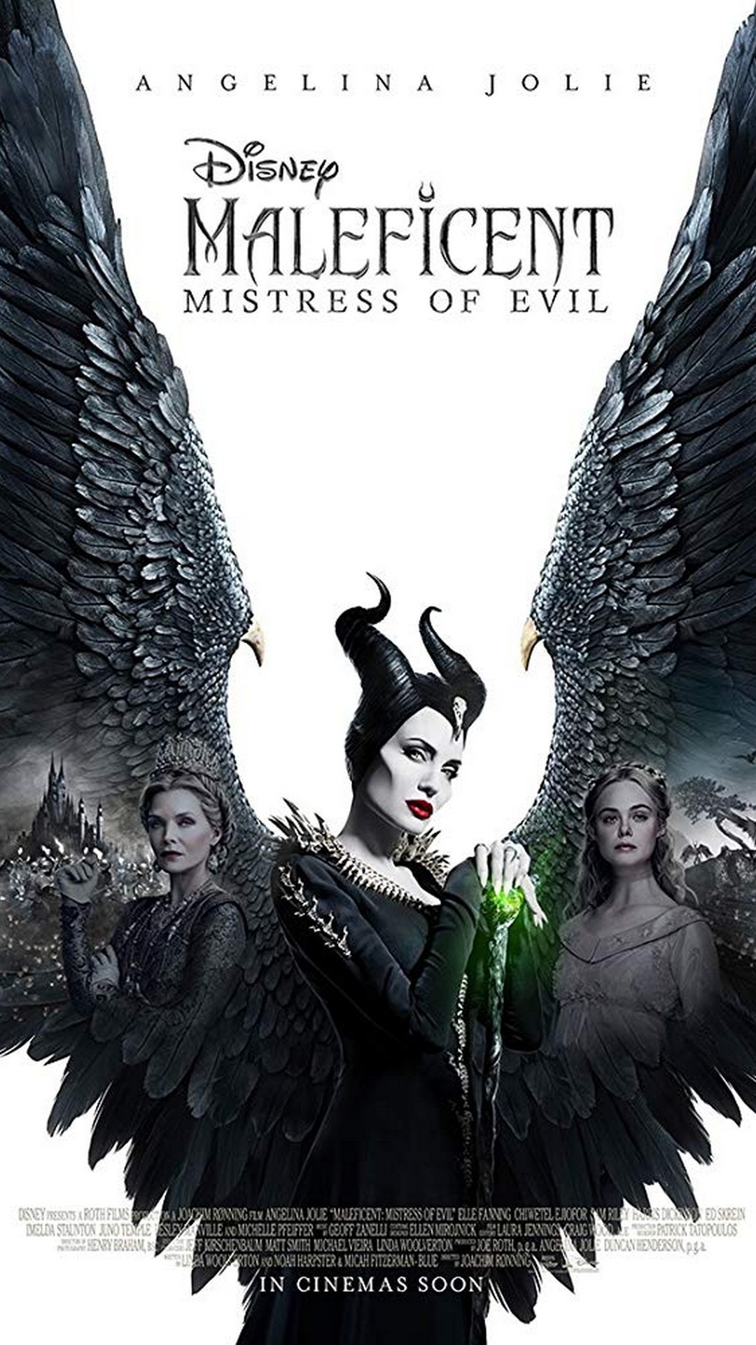 Maleficent Mistress of Evil Android Wallpaper