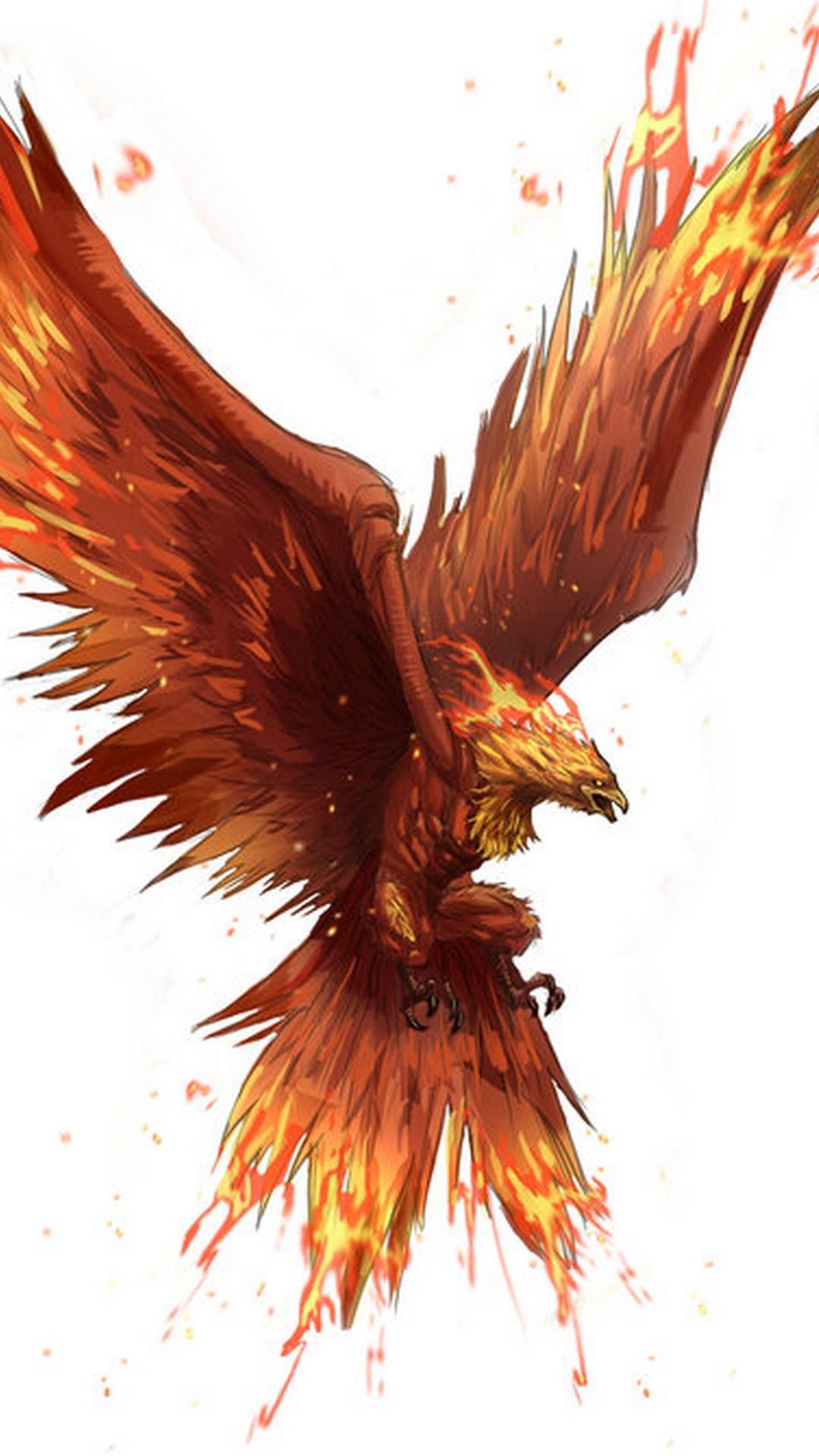 Dark Golden Phoenix