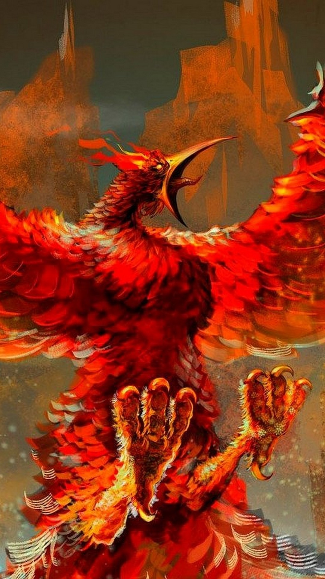 Red Angry Phoenix