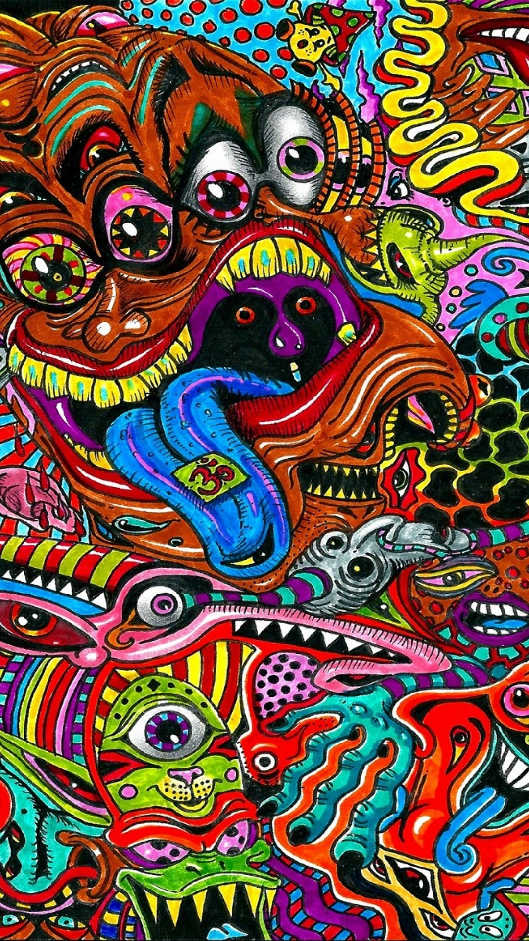 Psychedelic Art Backgrounds
