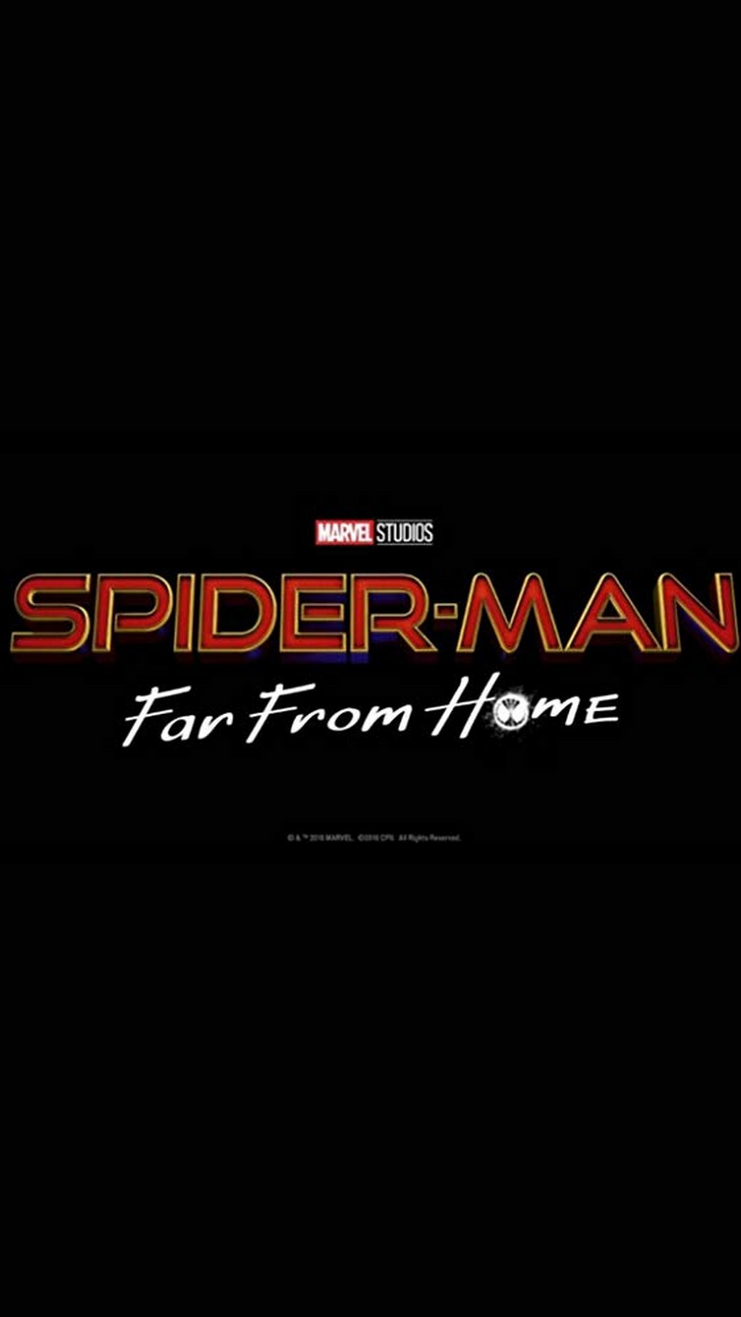 Spider-Man Far From Home Android Wallpaper