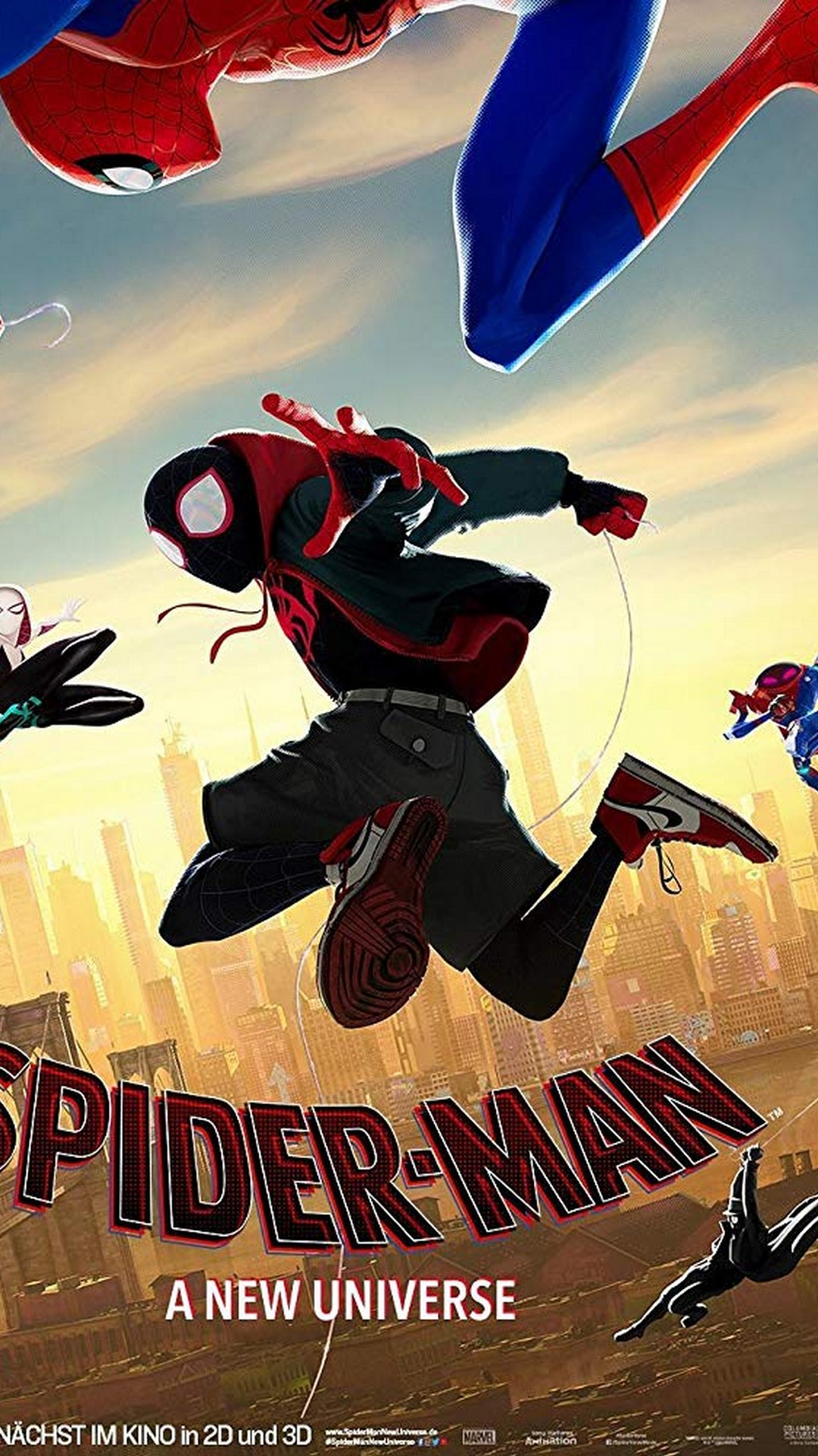 Spider Man Into the Spider Verse 2018 Android Wallpaper