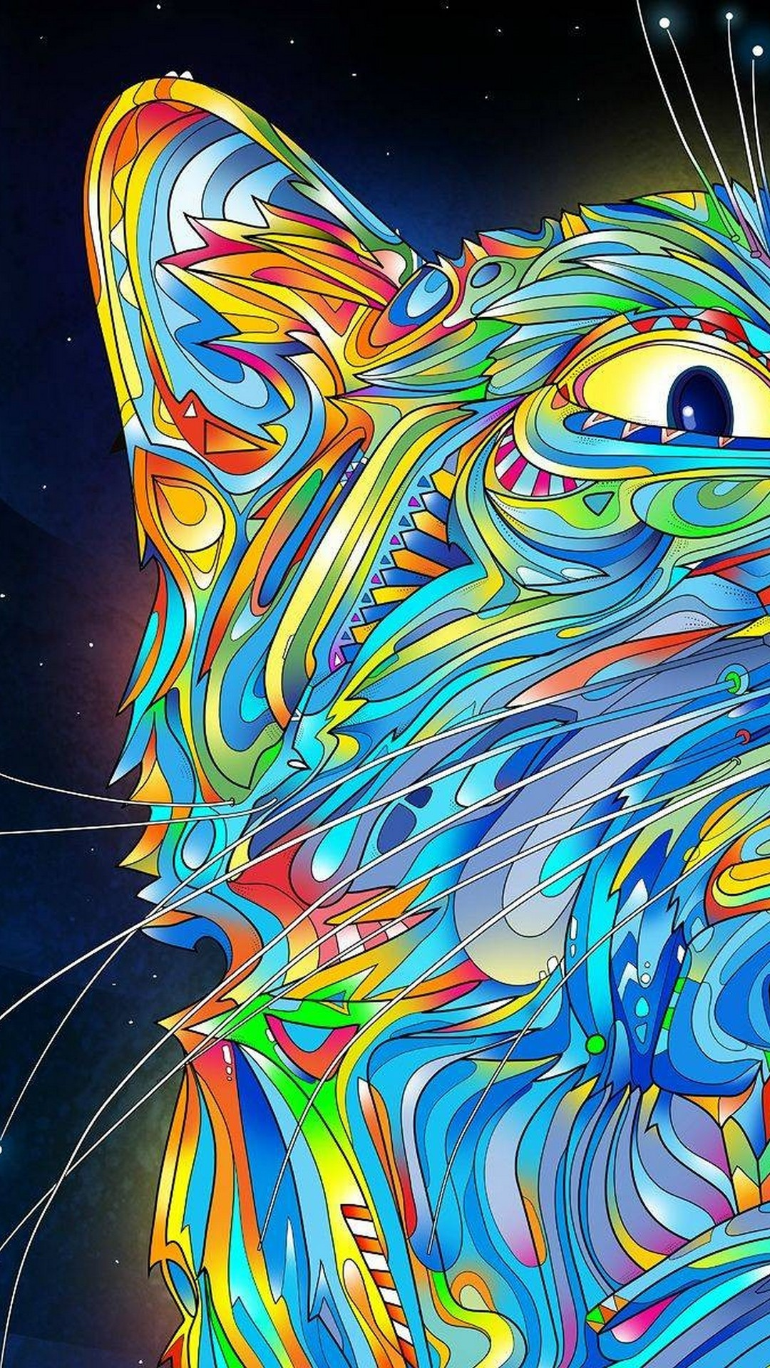 Trippy Art Backgrounds For Android
