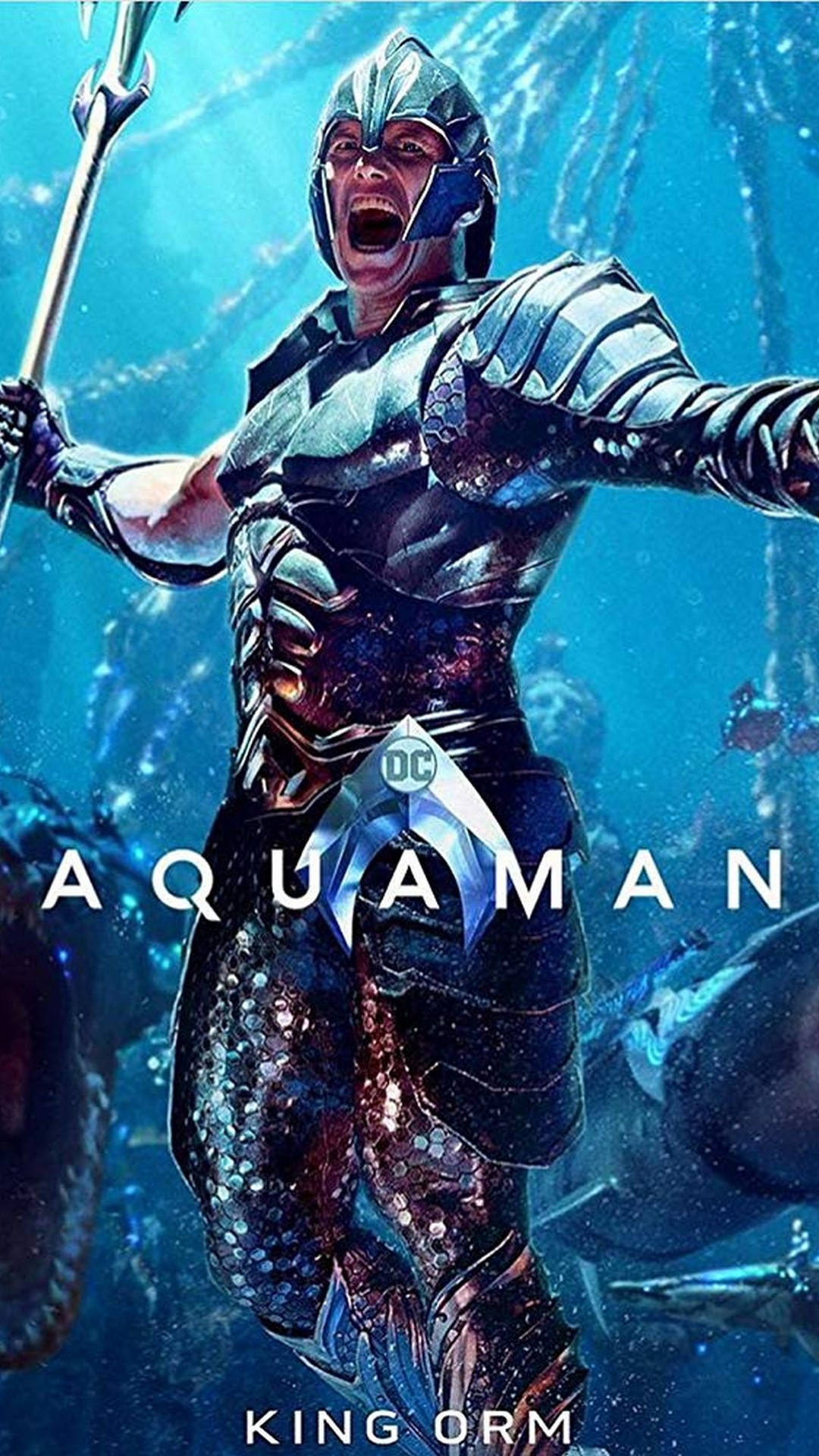 Wallpaper Android Aquaman 2018