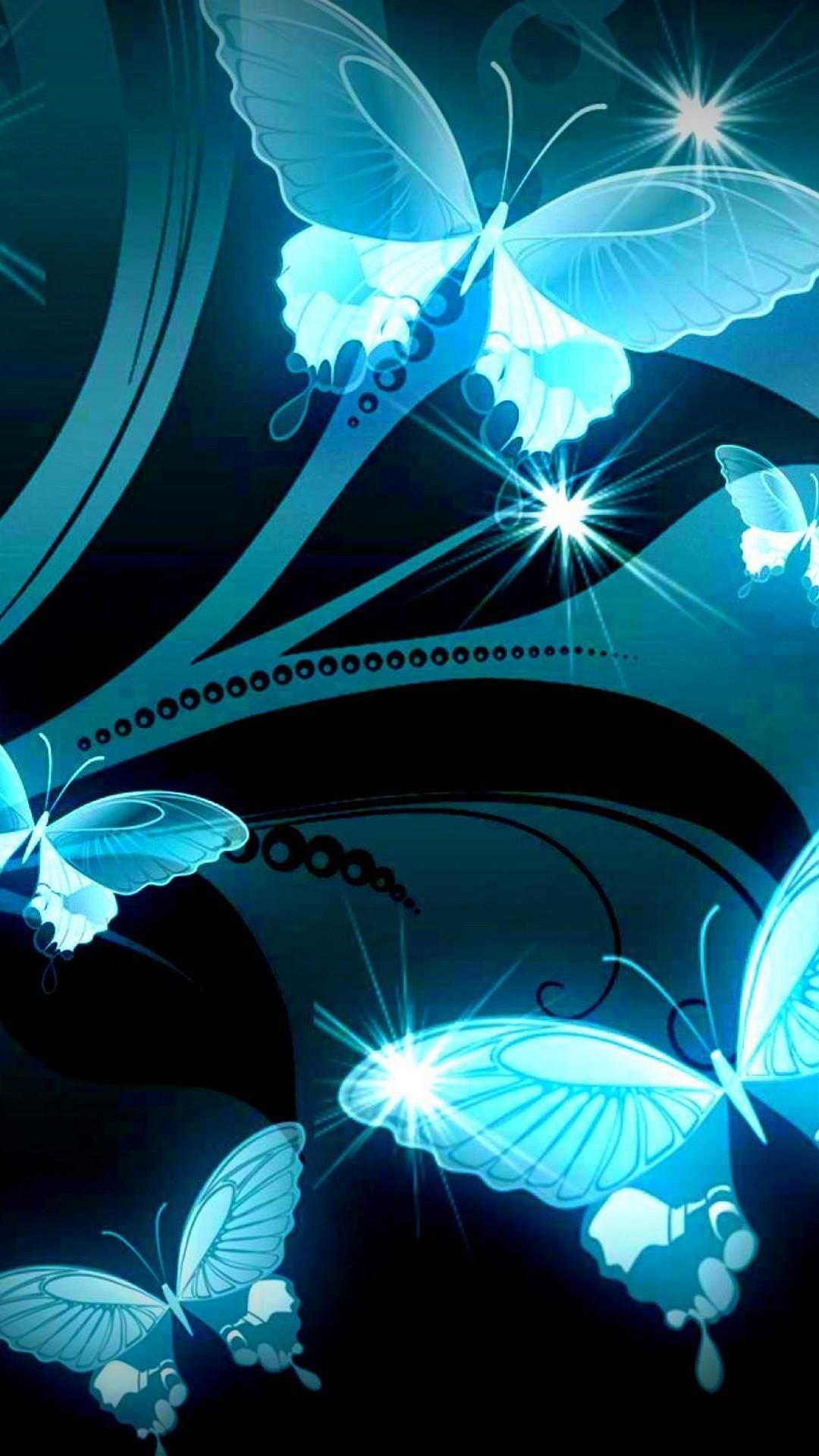 Light Silver Butterfly