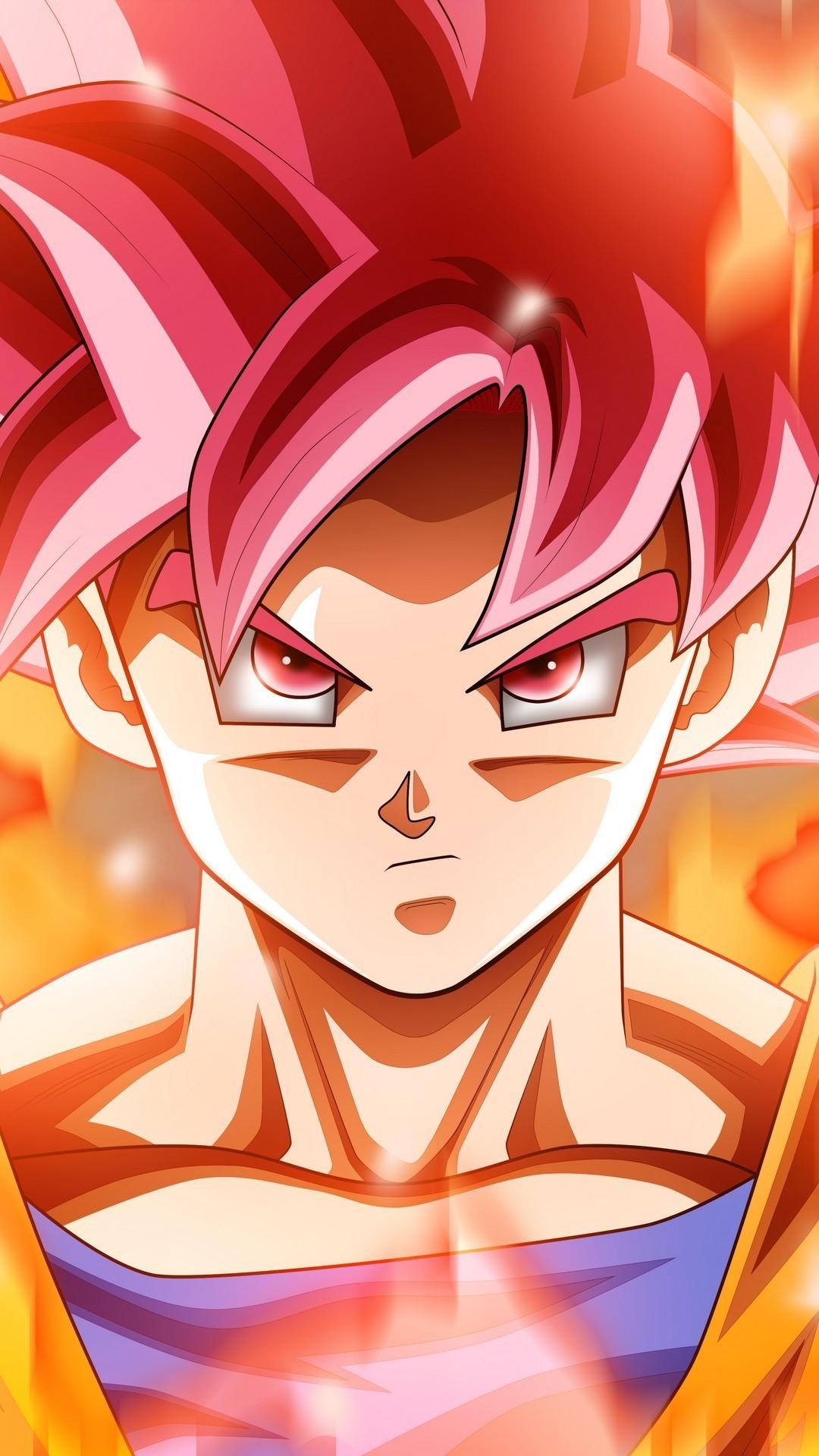Angry Goku Super Saiyan God