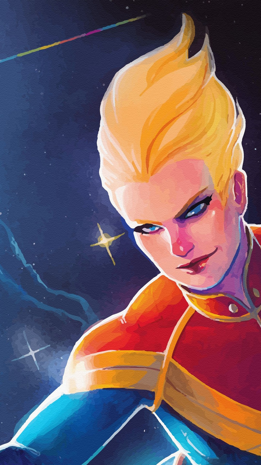 Wallpaper Captain Marvel Animated Android