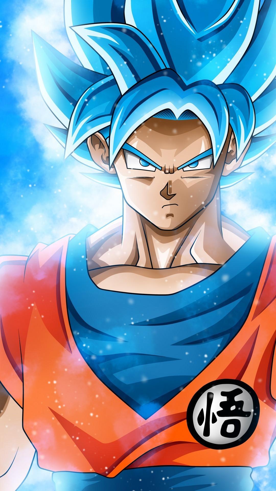 Silver Sky Goku SSJ