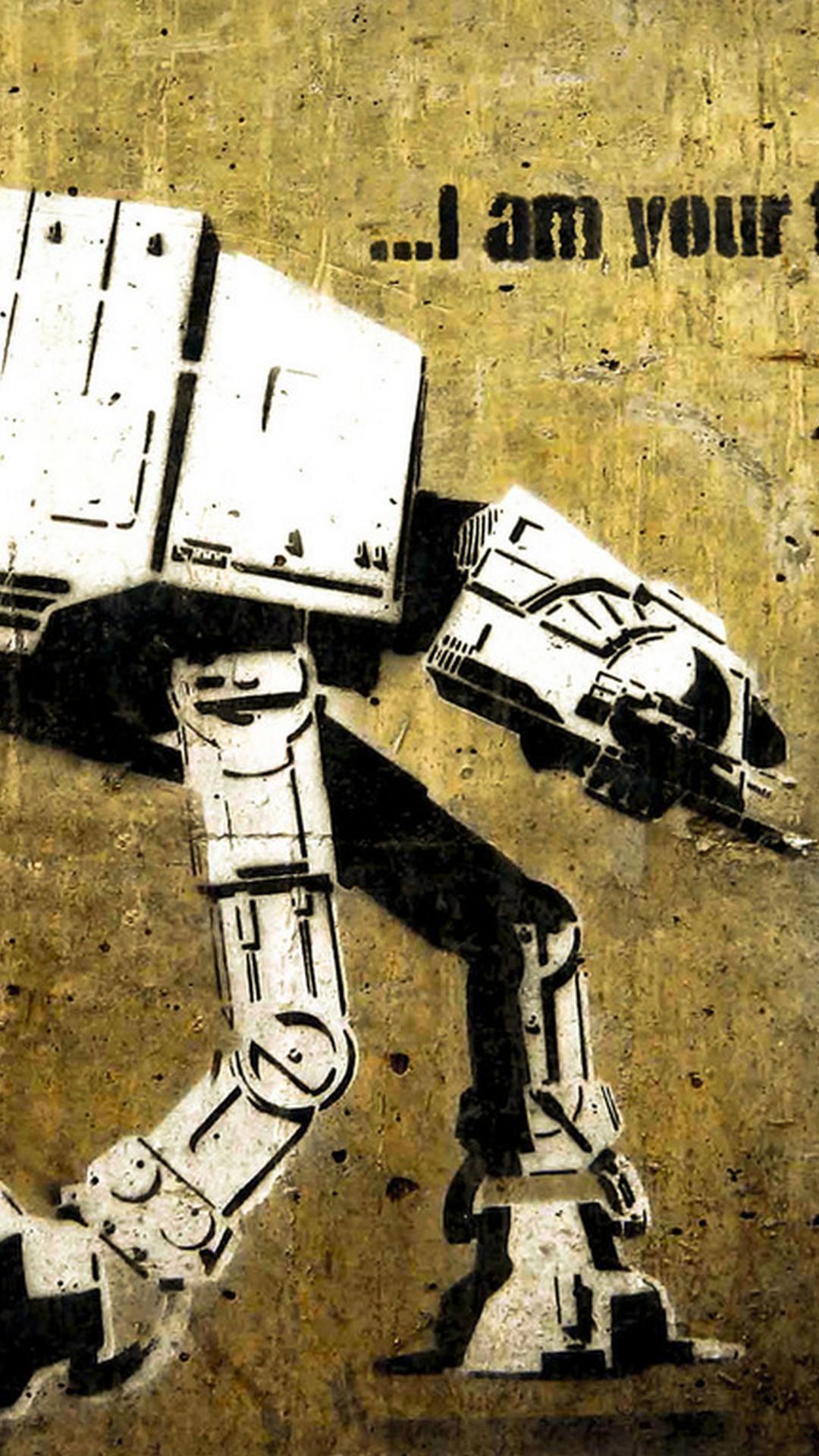 I am Your Robot Art Wallpaper