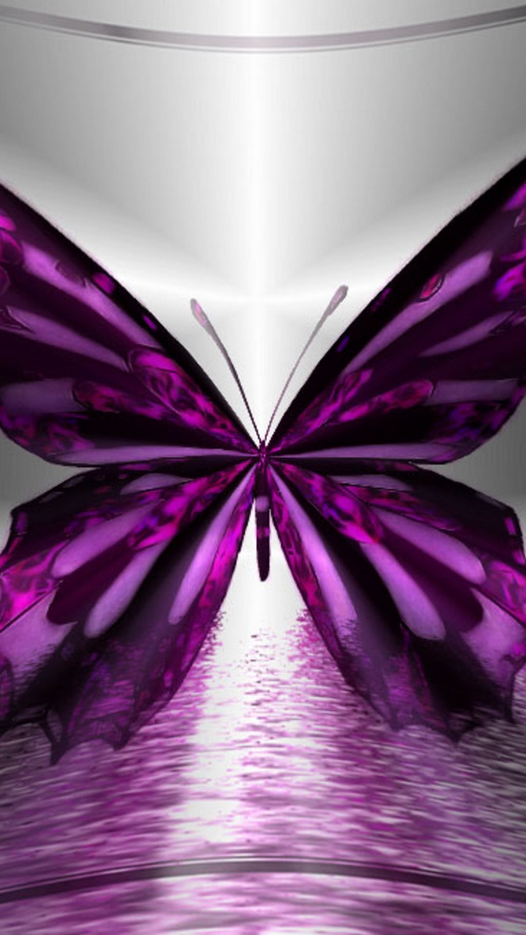 Wallpaper Purple Butterfly Android