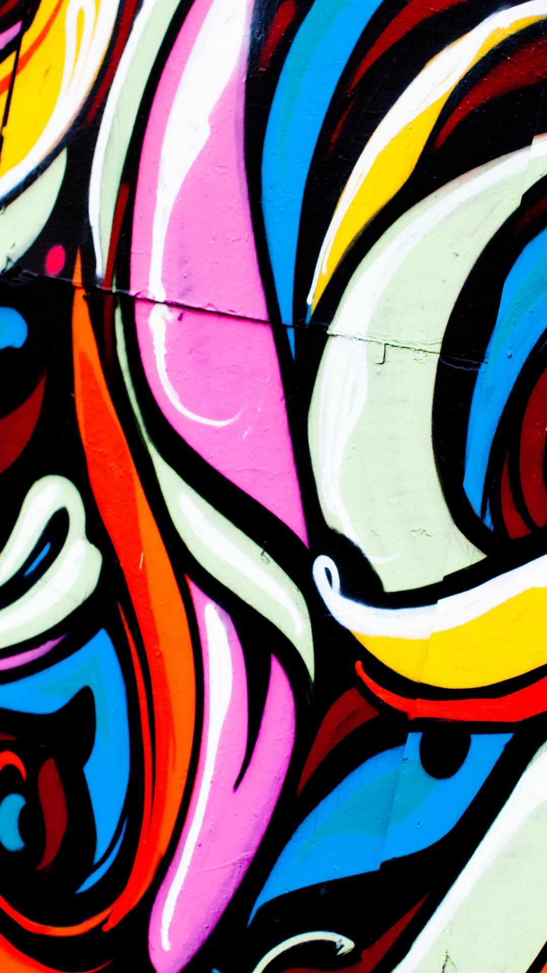 Colorful Art on Wall
