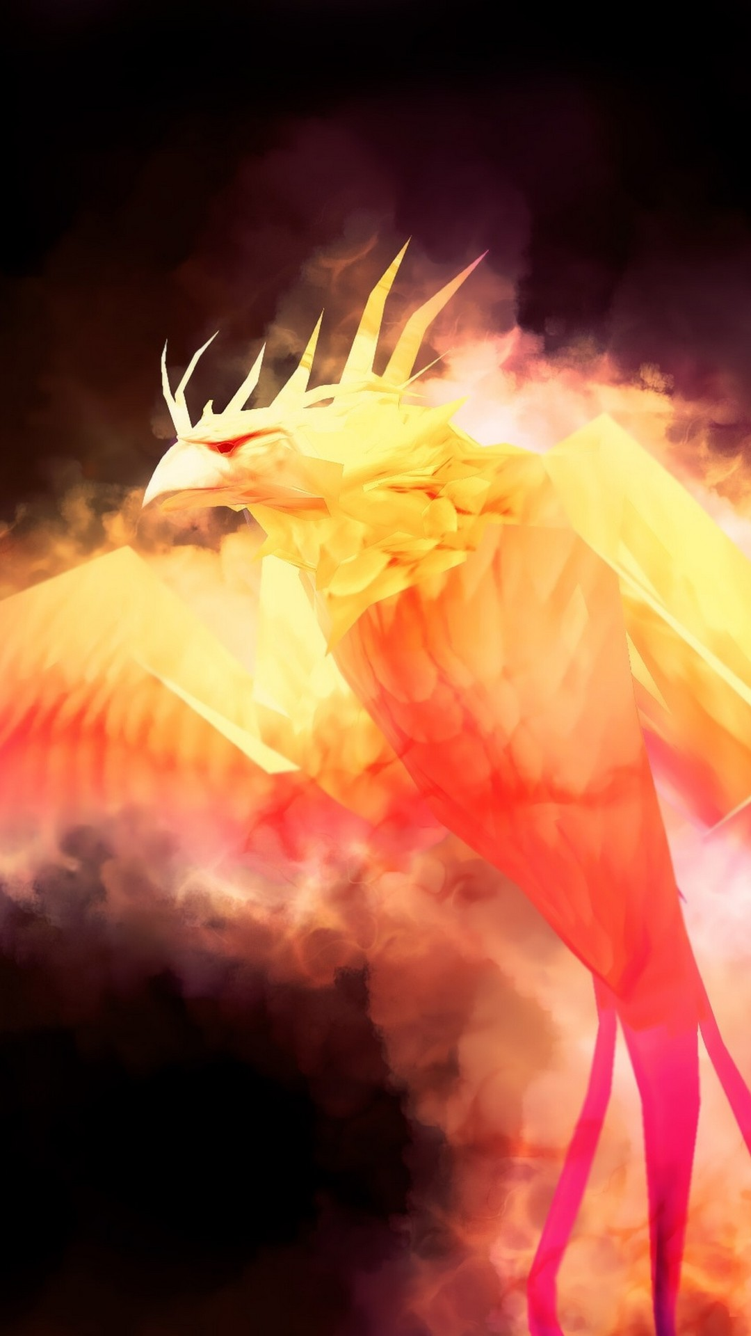 Silver Black Phoenix