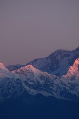 Winter Sunshine Mountain